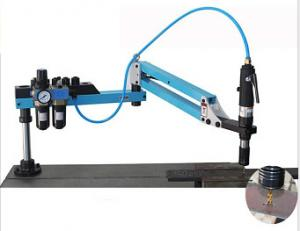 China Aluminum Tube Pneumatic Air Tapping Machine Flexible With 400 RPM Spindle Speed on sale
