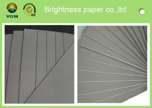 China Recycled Paper A4 Grey Chipboard Paper Sheet / Roll Good Stiffness on sale