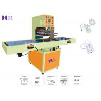 China PU Medical Bag Automatic Welding Machine Slide Table Style Pneumatic Drive Mode on sale