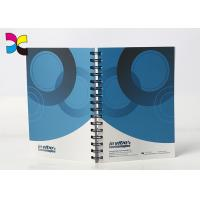 Paper Print Notebook With Metal Spiral/ Lined Notebook For School Supply