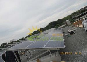 China Multi Functional High End Pv Mounting Structure With Solitary Pole on sale