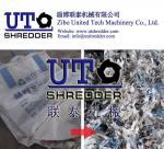 plastic double shaft shredder, plastic granulator - plastic jumbo bag shredder, plastic bag, package bag shredder