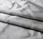 ripstop conductive silver fabric for touch screen use 100%silver