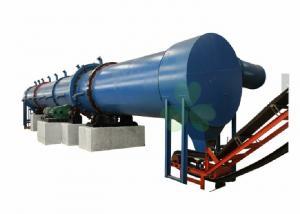China Biomass Mobile Sand Rotary Dryer Machine , Large Roller Dryer Machine on sale