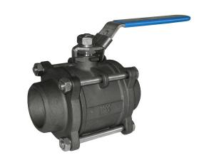 China NPT / BSP Screw Threaded Ball Valve Floating For Petroleum / 3 Piece Ball Valve on sale