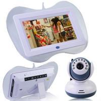 "2.4GHz Wireless 7"" LCD Baby Monitor DVR + 9 IR LED Lights Camera"