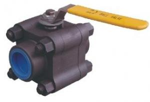 China 3Cs Side Entry Actuated Ball Valve Floating Type Butt Welded on sale
