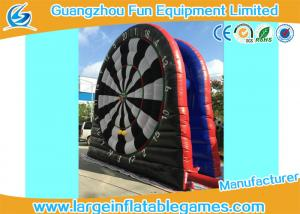 China 6mH Giant Inflatable Sport Games Dart Board Outdoor For Children / Adult on sale