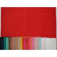 Red 50% Wool 50% Polyester Cloth , Overcoat Wool Blend Fabric xp005