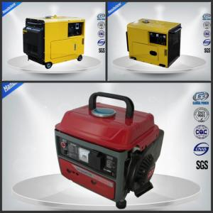 China Quietest Small Portable Generator Set Air Cooled 4 Stroke Three Loops on sale