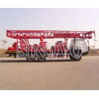 China Highly Efficient Water Well Drilling Rig SIN600 105mm - 305mm on sale