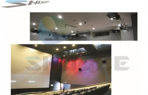 China Indoor 5D Cinema Equipment / Device / Accessory, Motion Chair, Special Effect System on sale