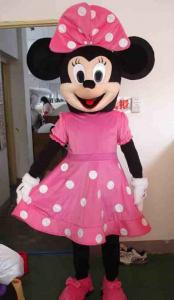 Quality costume adulte de bande dessinée de minnie de mickey for sale