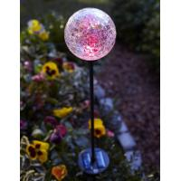 Color Changing Solar Glass Ball Fixture light