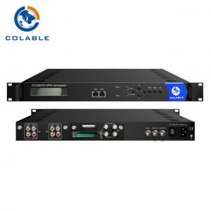 China Satellite Integrated Receiver Decoder RF To AV Converter IRD With 2 CAM / CI Slot COL5822CN on sale