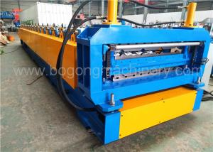 China Double Layers Corrugated Steel Panel Roll Forming Machine Custom Manufacture on sale