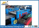 Blue color 2018 new type Guardrail Roll Forming Machine made in china long time service PLC control system