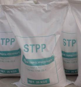 China Detergent and Soap Making used Sodium Tripolyphosphate Powder on sale