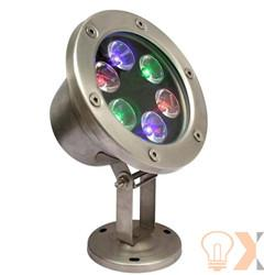 China IP68 6w Led Underwater Light Stainless steel body  on sale