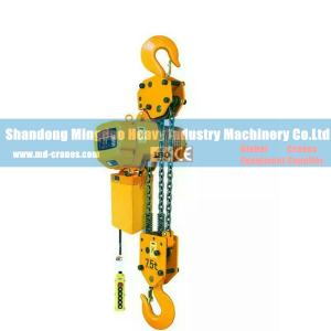 China High Quality Lower Price 7.5Ton Suspension Type Electric Chain Hoist for Sale on sale