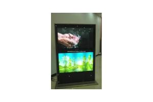 China 463D Naked Eye Touch Screen Multi-Media Advertising Player on sale