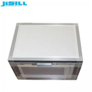 China Cryogenic VPU Insulation  Medical Cool Box With  PCM Phase Change Material For Vaccine Storage on sale