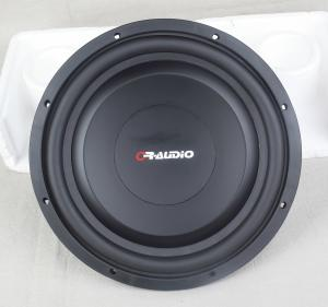 China Lightweight Shallow Mount Marine Speakers , Slim Car Speakers With Black Nomex  Spider on sale