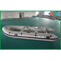2m Pvc Fabric Rib Zodiac Mini Inflatable Fishing Boat with Electric Motor