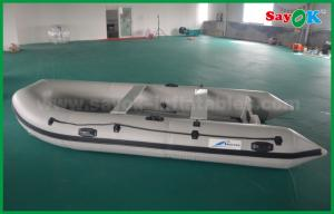 China 2m Pvc Fabric Rib Zodiac Mini Inflatable Fishing Boat with Electric Motor on sale