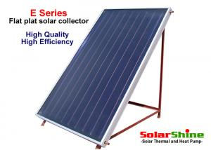 China Safety Flat Plate Solar Collector , Solar Water Heater Evacuated Tube Collector on sale