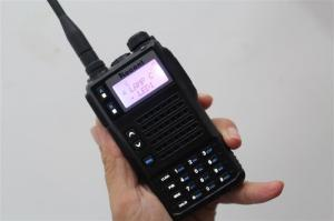 China 10W Power Tri-band VHF/UHF handheld radios transmitter transceiver on sale