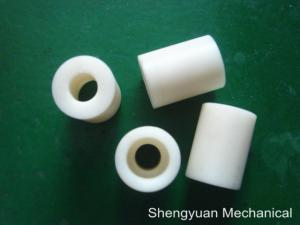 China Urethane 90 Durometer Machined Plastic Parts UHMWPE Shaft Sleeve for Gig Conveyer on sale