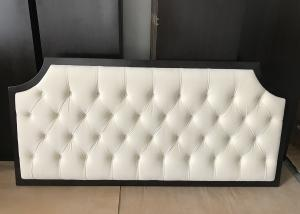 China Antique White Hotel Furniture Headboard , Full Size Bed Headboard on sale