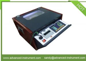 China IEC 156 Dielectric Breakdown Voltage Portable Oil Testing Set on sale