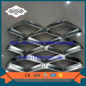 China aluminum panels for suspended ceilings grill / decorative aluminum expanded metal on sale