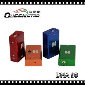 China e cigarette DNA30 mod ,high quality vv vw dna 30 chip,2014 dna 30 mod on sale