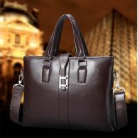 2017 Men Casual Briefcase Business Shoulder Bag Leather Messenger Bags Computer Laptop Handbag Bag Men