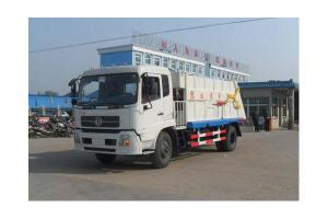 China Dongfeng Tianjing compressed garbage truck on sale