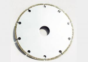China 8 Inch Silver Color  For Cutting Graphite Electroplated Diamond Saw Blade Disc on sale