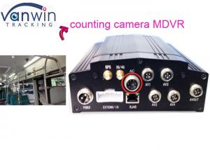 China Hard Driver Mobile Vehicle DVR 3G Bus Passenger Counting 8V - 36V on sale