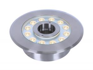 China RGB Recessed Underwater LED Lights / Waterproof LED Pool Light For Fountains on sale