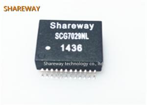 China Single port Ethernet Magnetic Transformers SCG7029NL meet IEEE802.3 requirements on sale