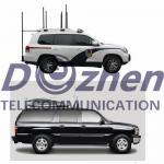 433-2500MHz 8 Bands 185W Vehicle Signal Blocker