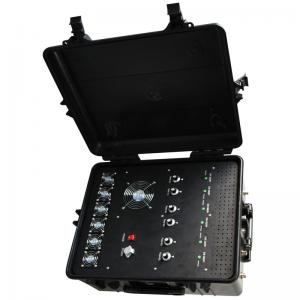 China Removable Explosion Proof Mobile Phone Signal Jammer Portable For SWAT Team on sale