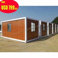 20ft 40ft luxury prefab shipping container homes for sale in usa