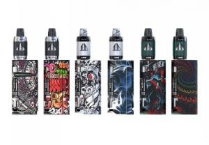 China Authentic IJOY Solo Elf 80W TC Starter Kit 80W Solo Mini MOD Powered by Single 18650 Battery & 2ml ELF Tank Pinpoint on sale