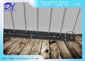 China Sliding invisible grille 316 Stainless Steel Wire  accessories for balcony and window on sale