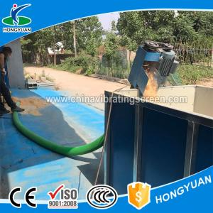 China Multi-functional mobile soya suction machine flexible screw conveyor on sale
