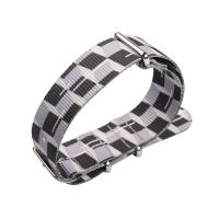 China Nato Style Nylon Strap Watch Bands , 20mm Lady Watch Strap Print Pattern on sale