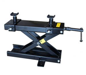 China Hot Sale Mini Motorcycle Lift Stand 1100 lbs Scissor Jack Lift on sale